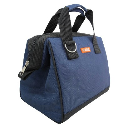 Sachi Navy Blue Insulated Lunch Tote
