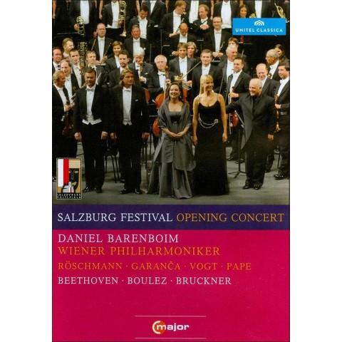 Salzburg Festival Opening Concert 2010: Beethoven/Boulez/Bruckner (Widescreen)