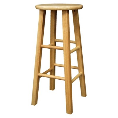 "Landon 29"" Barstool Hardwood/Natural - Room Essentials™"