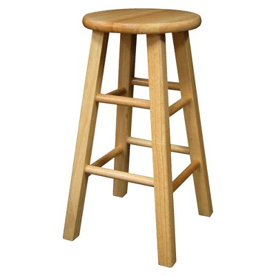 "Landon 24"" Counter Stool Hardwood/Natural - Room Essentials™"