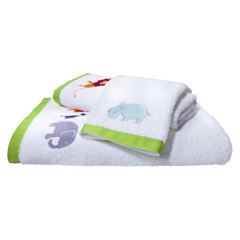 Hippo 3-pc. Bath Towel Set
