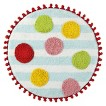 Gumball Machine Round Bath Rug - 25