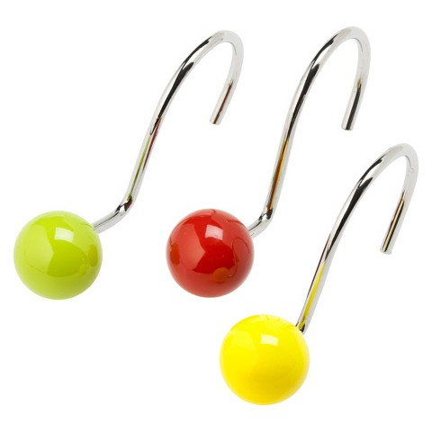 Gumball Machine Shower Curtain Hooks