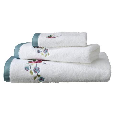 Vintage Lace 3-pc. Bath Towel Set
