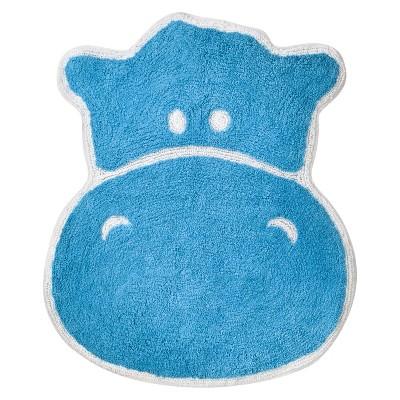 """Hippo Bath Rug - (24x26"""")"""
