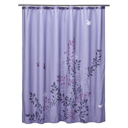 product description page avery shower curtain