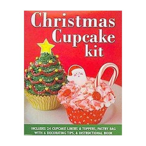 Christmas Cupcake Kit (Hardcover)