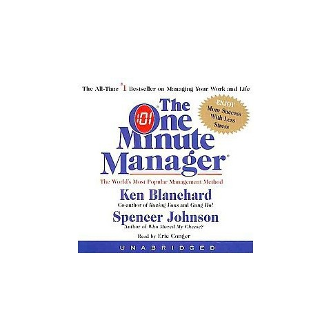 The One Minute Manager (Abridged) (Compact Disc)