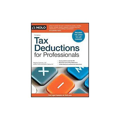 Tax Deductions for Professionals (Paperback)