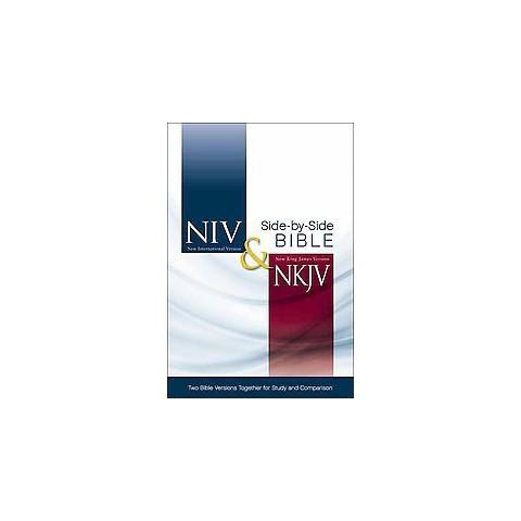 NIV & NKJV Side-By-Side Bible (Hardcover)