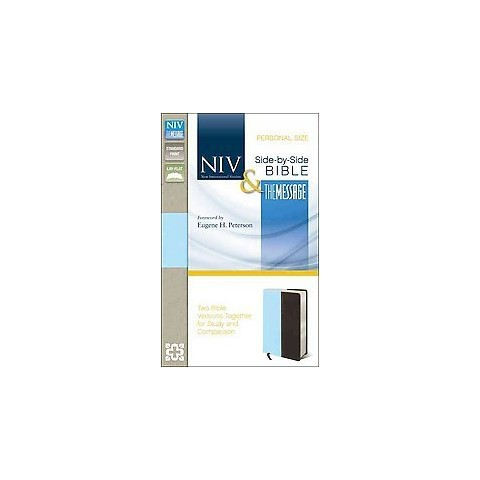 NIV & the Message Side-by-Side Bible (Paperback)