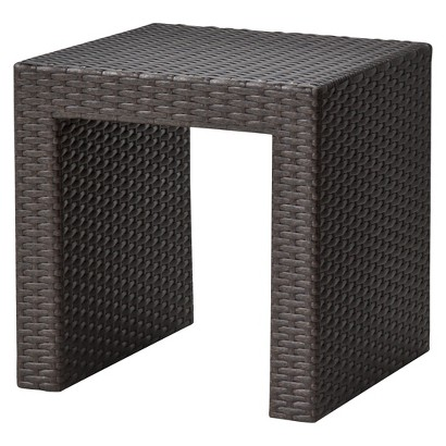 Atlantis Wicker Patio Accent Table
