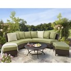 Thornquist 5-Piece Wicker Patio Sectional Seating Furniture Set