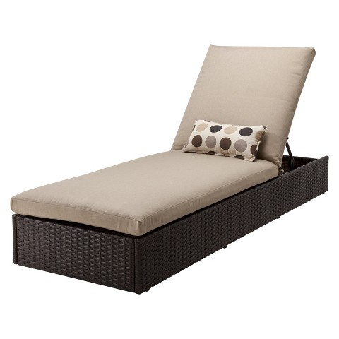 Atlantis Wicker Patio Chaise Lounge