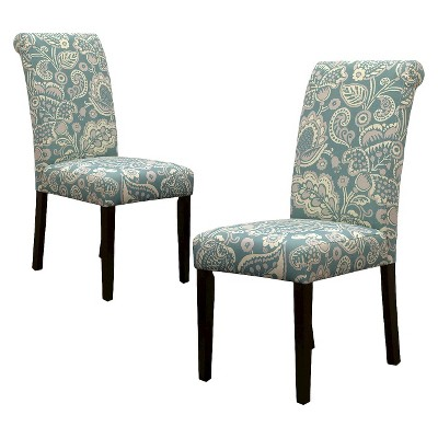 ECOM Avington Dining Chair Set of 2 - Laguna Paisley