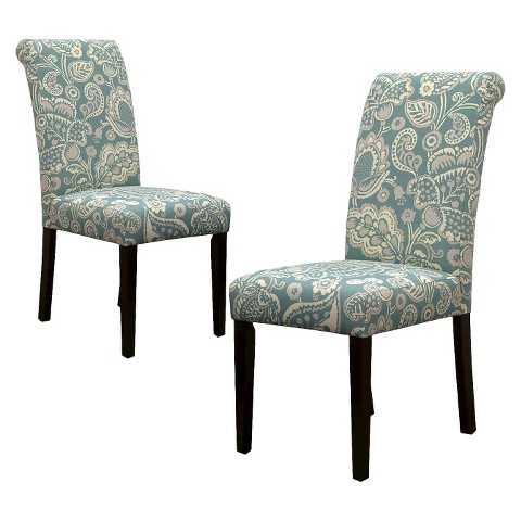 Avington Dining Chair Set of 2 - Laguna Paisley