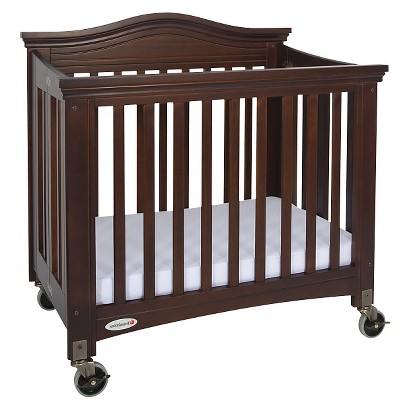 Foundations Royale Fixed Side Crib - Cherry