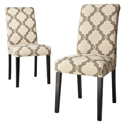 Avington Dining Chair Set of 2 - Luca Stone