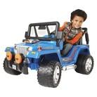 Power Wheels Hot Wheels Jeep - 12V Blue