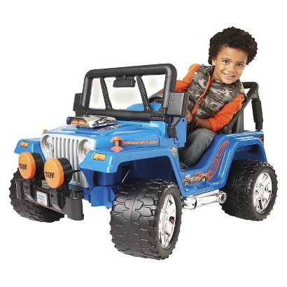 Power Wheels Hot Wheels Jeep - 12V Blue