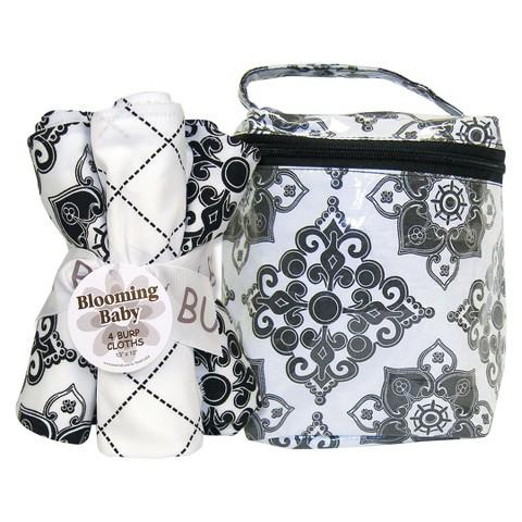 Trend Lab 5 Pc. Burp Cloth and Bottle Bag Set - Versailles