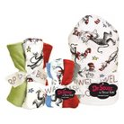 Trend Lab 10 Pc. Burp Cloth and Hooded Towel and Wash Cloth Set - Dr. Seuss