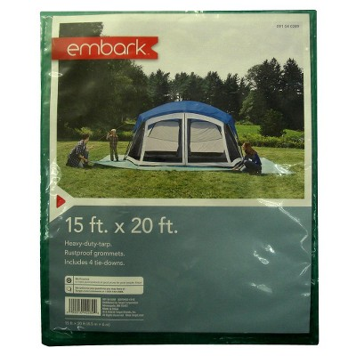 Heavy Duty Tarpaulin (15x20 Ft.) - Embark™
