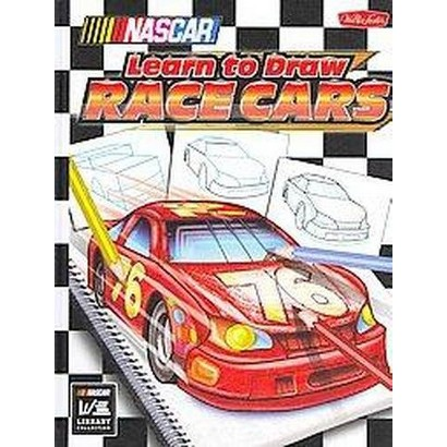 NASCAR Learn to Draw Race Cars (Hardcover)
