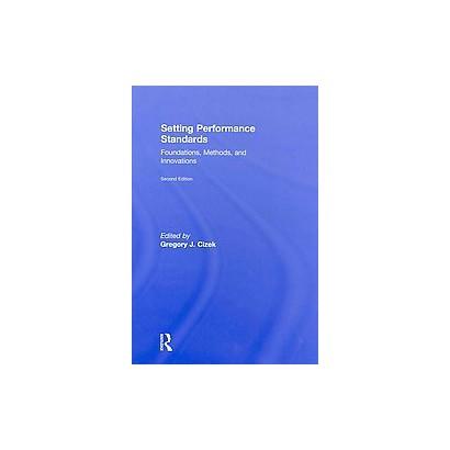 Setting Performance Standards (Revised) (Hardcover)