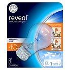 GE Reveal 40-Watt A15 Appliance Incandescent Light Bulb
