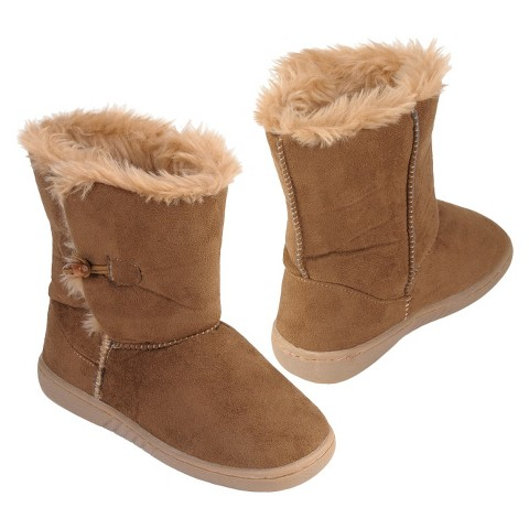 Girl's Brinley Wood Accent Boot - Assorted Colors