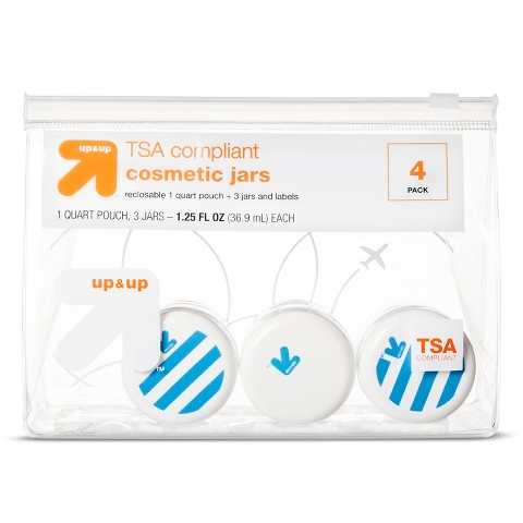 up & up™ Cosmetic Jars – 3 ct