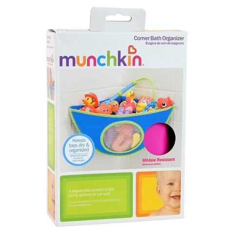 Munchkin Corner Bath Organizer - Pink