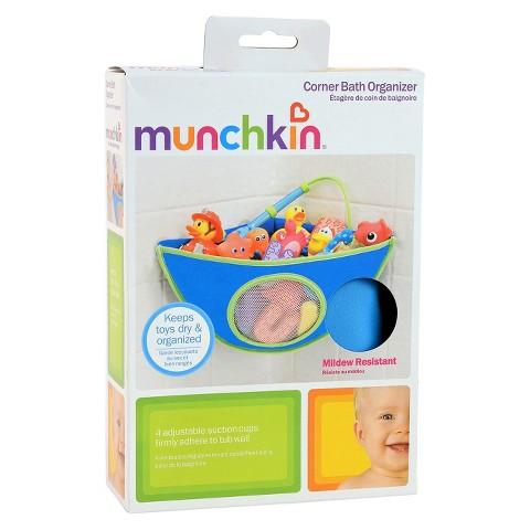 Munchkin Corner Bath Organizer - Blue