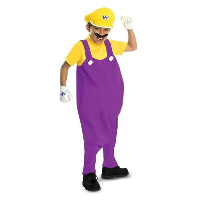 Toddler/Boy's Super Mario Bros. - Wario Deluxe Costume
