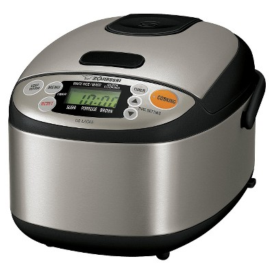 Zojirushi Micon Rice Cooker and Warmer - Black/Silver
