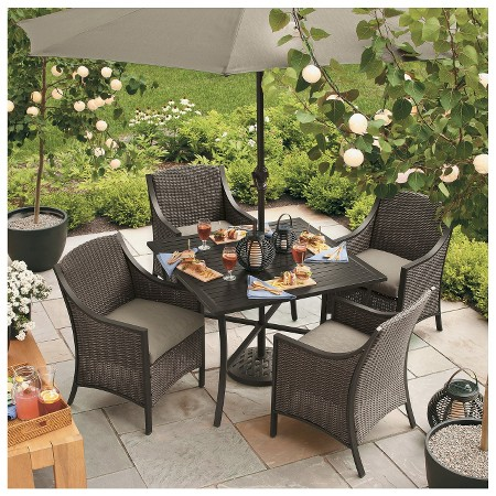casetta patio dining furniture collection threshold