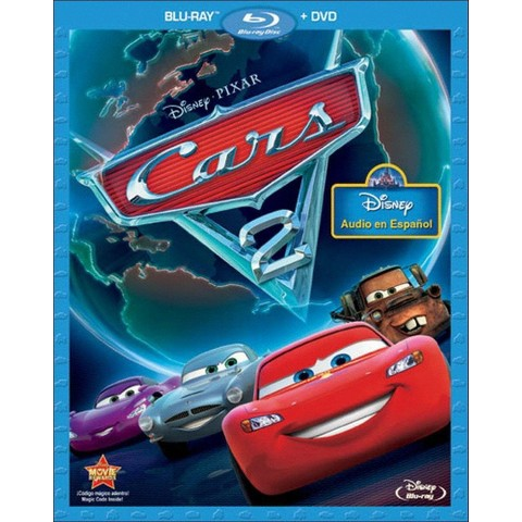 Cars 2 (2 Discs) (Spanish) (Blu-ray/DVD)