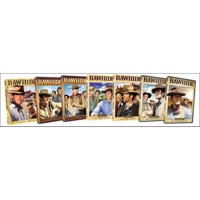 Rawhide: Seasons 1-4 (31 Discs)