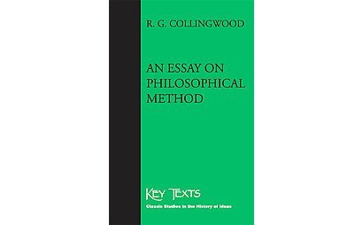 essay on philosophical method An essay on philosophical method rgcollingwood april 26-may 1, 2012 what is philosophy is that a question in philosophy very much so, collingwood.