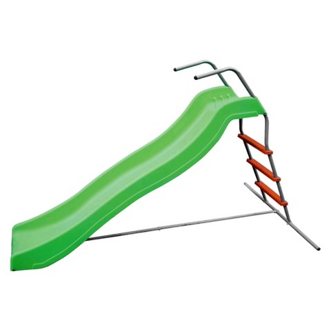Pure Fun Wavy Slide - Green/Red (6 Feet)