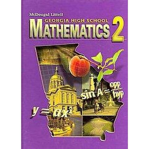 McDougal Littell Georgia High School Mathematics 2 (Hardcover)
