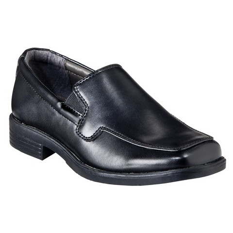 Boy's Cherokee® Pepper Uniform Dress Shoes - Black