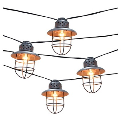 Metal Cage String Lights (10ct) - Smith & Hawken®