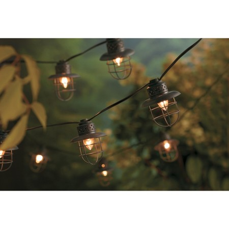 Metal Cage String Lights (10ct) - Smith & Hawken : Target