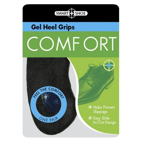 Smart Shoe Gel Heel Grips - White (One Size Fits Most)