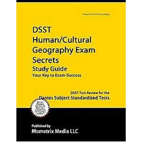 DSST Human/Cultural Geography Exam Secrets (Study Guide) (Paperback)