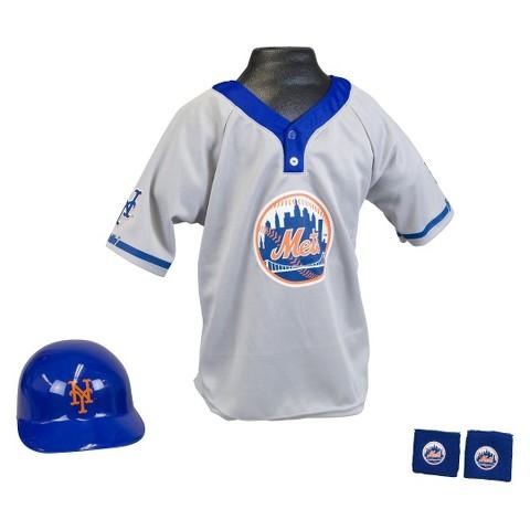 New York Mets Franklin Sports Baseball Uniform Set for Kids -  Ages 5-9