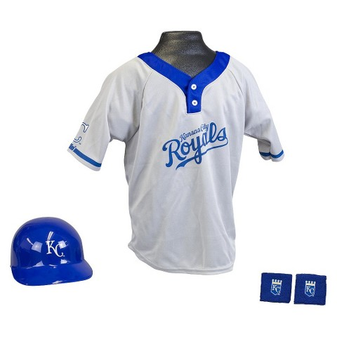 Franklin Sports Kansas City Royals Baseball Uniform for Kids