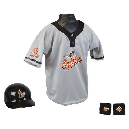 Franklin Sports Baltimore Orioles Baseball Uniform for Kids